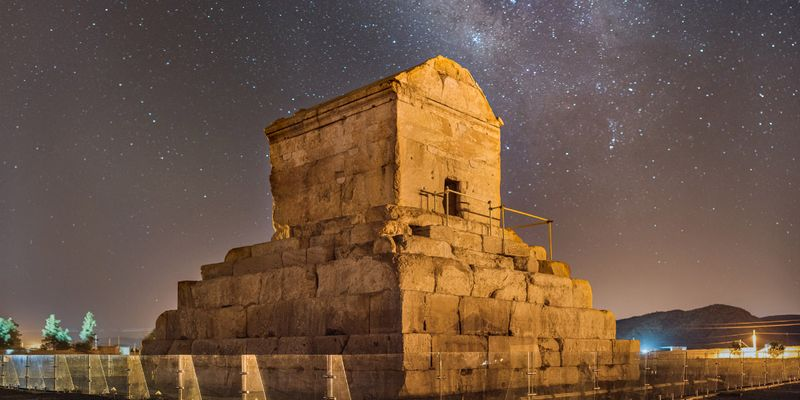 Shiraz, Pasargadae, Tomb of Cyrus the Great